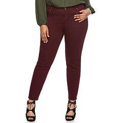 Plus Size Jennifer Lopez Skinny Jeans
