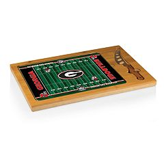 Picnic Time Georgia Bulldogs Cutting Board Serving Tray