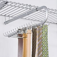 Rubbermaid Configurations 30-Hook Tie & Belt Organizer