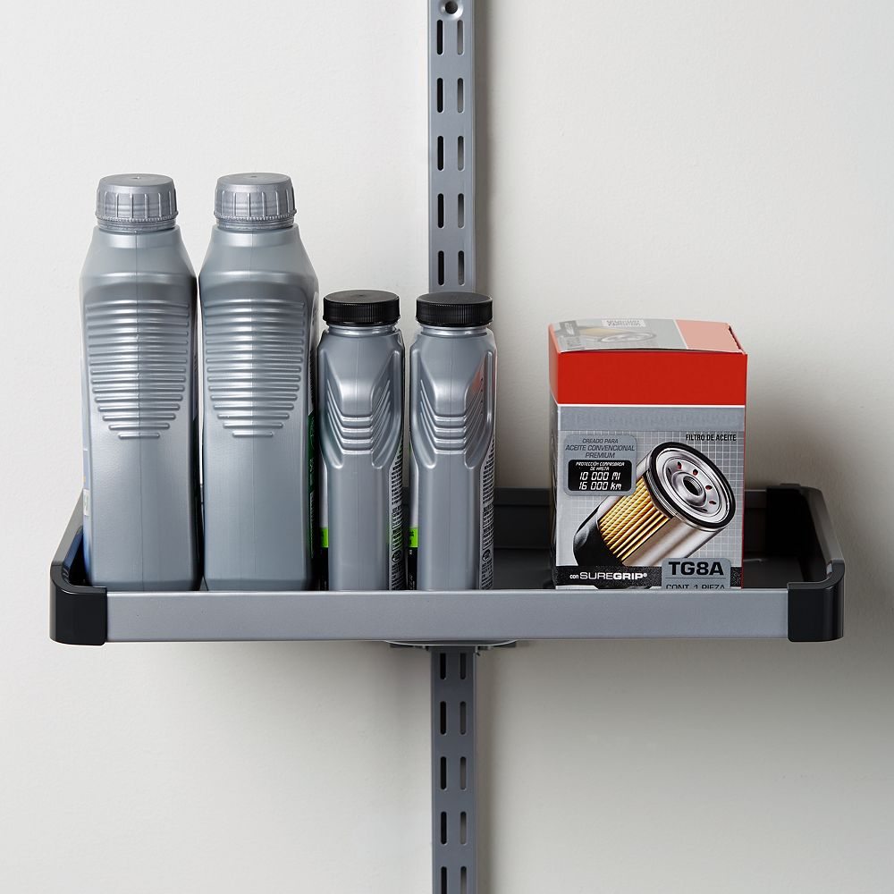 Rubbermaid FastTrack Rail Small Shelf