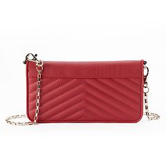 Apt. 9® Nina Quilted Chevron Crossbody Wallet