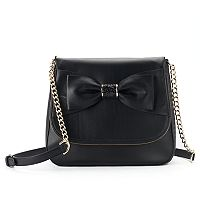 Apt. 9® Ruby Bow Flap Crossbody Bag