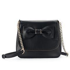 Apt. 9® Ruby Bow Flap Crossbody Bag