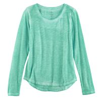 Girls 7-16 & Plus Size SO® Core Tee