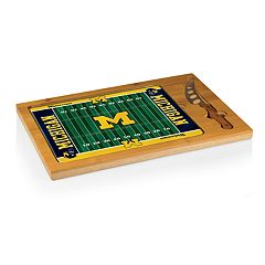 Picnic Time Michigan Wolverines Cutting Board Serving Tray