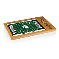 Picnic Time Michigan State Spartans Cutting Board Serving Tray