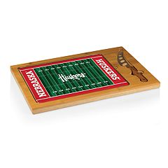Picnic Time Nebraska Cornhuskers Cutting Board Serving Tray