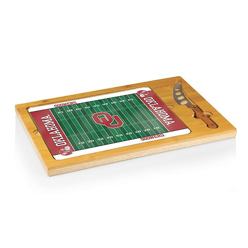 Picnic Time Oklahoma Sooners Cutting Board Serving Tray