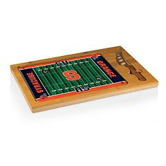 Picnic Time Syracuse Orange Cutting Board Serving Tray