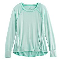 Girls 7-16 & Plus Size SO® Performance Crew Tee