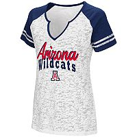 Women's Campus Heritage Arizona Wildcats Notch-Neck Raglan Tee