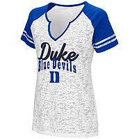 Women's Campus Heritage Duke Blue Devils Notch-Neck Raglan Tee