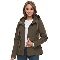 Juniors' Sebby Hooded Zip-Up Jacket