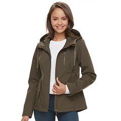 Juniors' Sebby Hooded Zip-Up Jacket