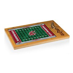 Picnic Time Washington State Cougars Cutting Board Serving Tray