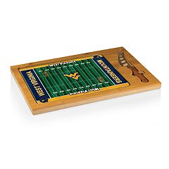 Picnic Time West Virginia Mountaineers Cutting Board Serving Tray