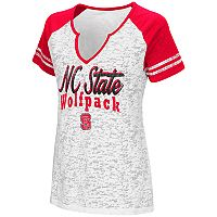 Women's Campus Heritage North Carolina State Wolfpack Notch-Neck Raglan Tee