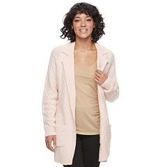 Juniors' Candie's® Open-Front Long Cardigan