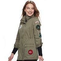 Juniors' Sebby Patch Anorak Jacket