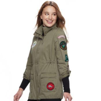 Juniors' Sebby Patch Anorak Jacket
