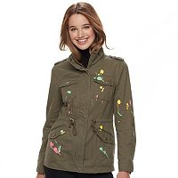 Juniors' Sebby Paint Splatter Anorak Jacket