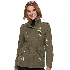 Juniors' Sebby Paint Splatter Anorak Jacket