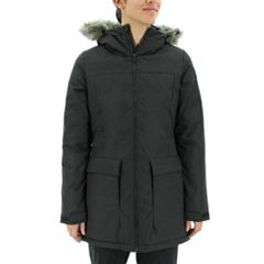 Women's adidas Outdoor Xploric Hooded Faux-Fur Trim Parka