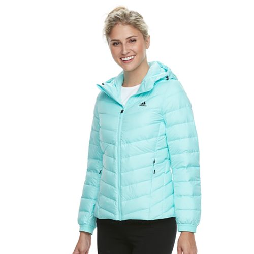 Women's adidas Outdoor Climawarm® Hooded Down-Fill Puffer Jacket