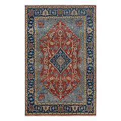 Couristan Tenali Azeri Framed Floral Wool Rug