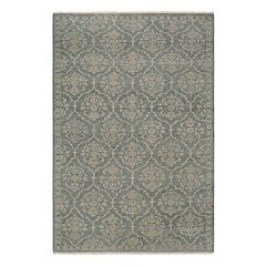 Couristan Tenali Floral Arabesque Damask Wool Rug