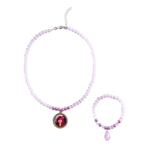 Disney's Descendants 2 Mal Girls 4-16 Necklace & Bracelet Set
