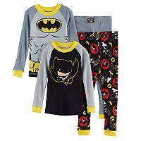 Toddler Boy DC Comics Batman 4 pc Pajama Set