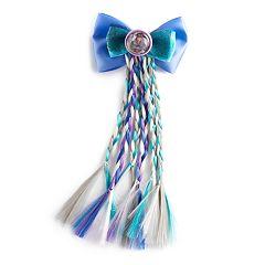 Disney's Descendants 2 Uma Girls 4-16 Braids Bow Hair Clip