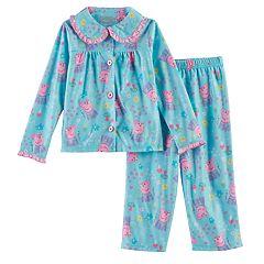 Toddler Girl Peppa Pig 2 pc Top & Pants Pajama Set