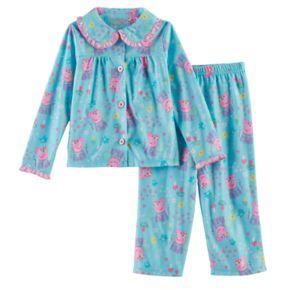 Toddler Girl Peppa Pig 2-pc. Top & Pants Pajama Set