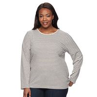 Plus Size Croft & Barrow® Crewneck Tee