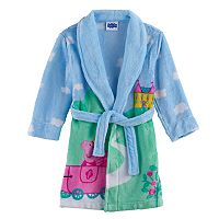 Toddler Girl Peppa Pig Plush Bath Robe