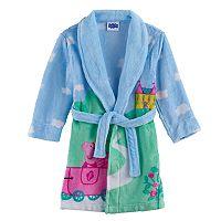Toddler Girl Peppa Pig Plush Bath Robe