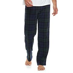 Men's 2-pack Patterned and Solid Microfleece Lounge Pants
