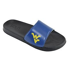 Men's West Virginia Mountaineers Slide Sandals