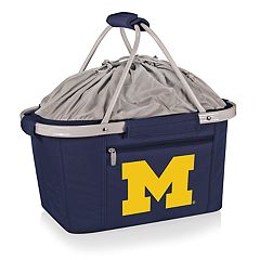 Picnic Time Michigan Wolverines Metro Insulated Picnic Basket