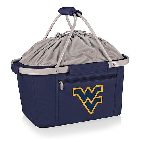 Picnic Time West Virginia Mountaineers Metro Insulated Picnic Basket