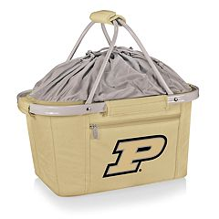 Picnic Time Purdue Boilermakers Metro Insulated Picnic Basket