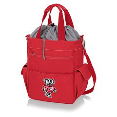 Picnic Time Wisconsin Badgers Activo Cooler Tote