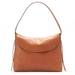 SONOMA Goods for Life™ Mia Leather Foldover Flap Shoulder Bag