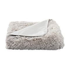 LC Lauren Conrad Faux Mongolian Fur Throw