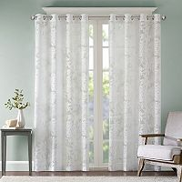 Madison Park Kauna Palm Leaf Window Curtain
