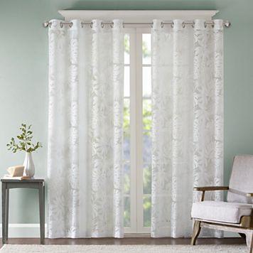 Madison Park Kauna Palm Leaf Window Curtain