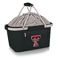Picnic Time Texas Tech Red Raiders Metro Insulated Picnic Basket