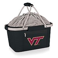 Picnic Time Virginia Tech Hokies Metro Insulated Picnic Basket